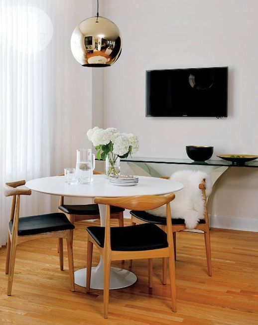 Le Fashion Blog A Fashionable Home Mid Century Modern Glamour Canada Style At Sarah