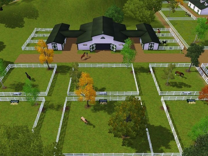 Image Result For Efficient Horse Farm Layout Horses