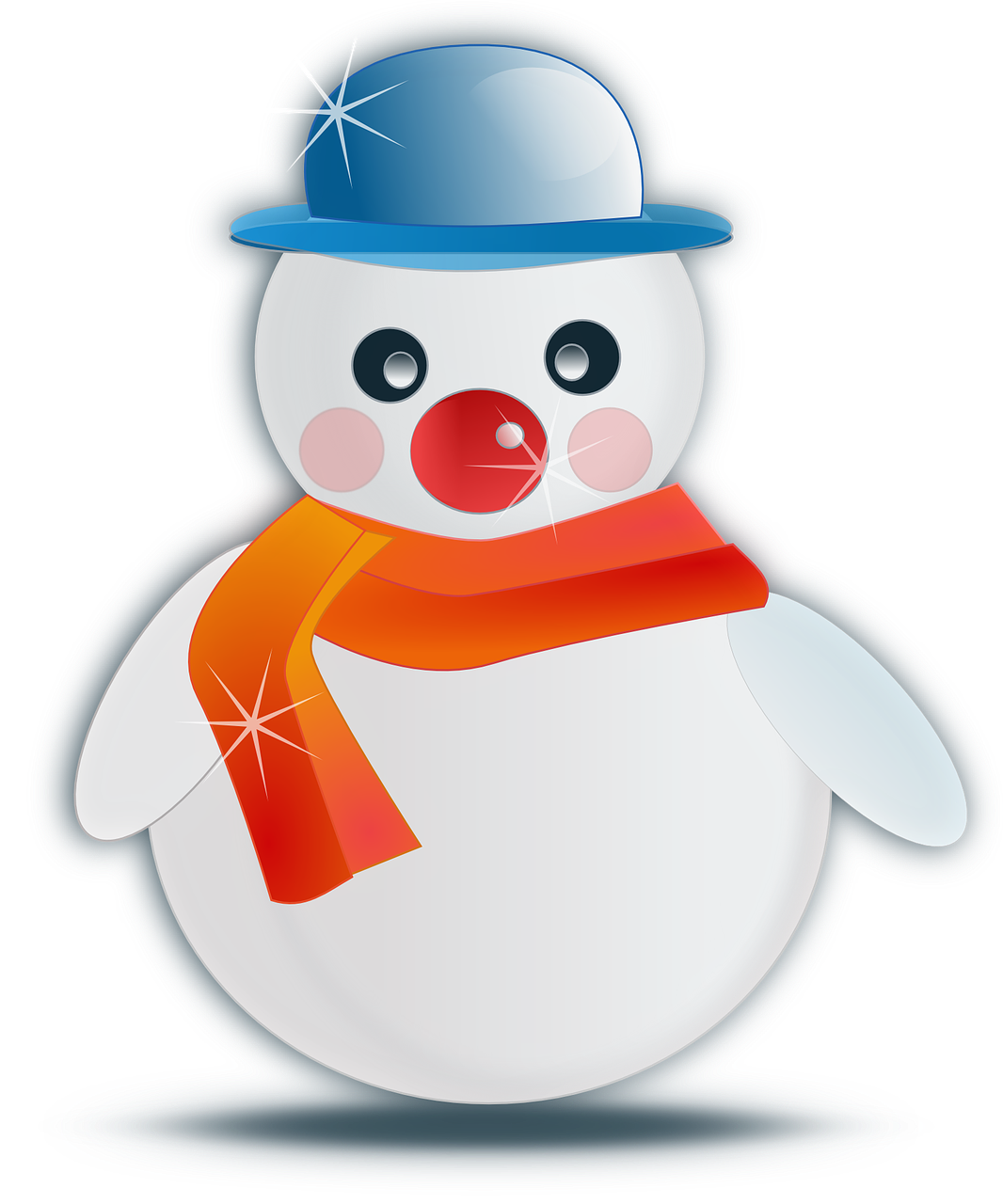 Vacation Snowman Winter Christmas Holiday Vacation