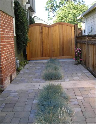 A great paving idea for our backyard.