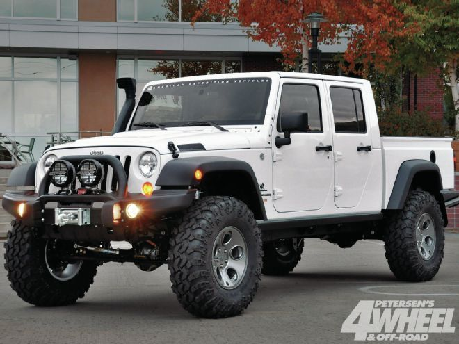 ultimate isnt an truck pickup just is off this road its a rescue wrangler rig the jeep