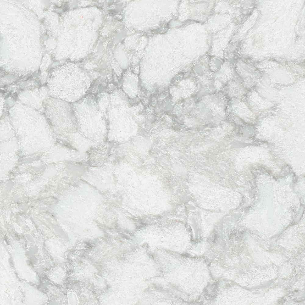 Lg Hausys Viatera 3 In X 3 In Quartz Countertop Sample In Aura