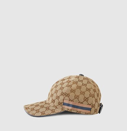 6536701c Pre-owned Gucci Canvas Baseball Hat ($172) ❤ liked on Polyvore featuring  accessories, hats, gucci, canvas hat, baseball cap, baseball cap …