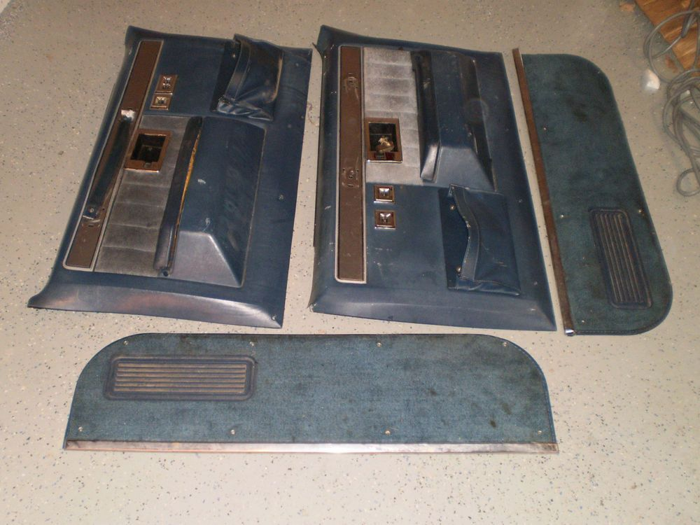 1977 1987 Power Windows Chevy GMC Truck Silverado Blazer Suburban DOOR  PANELS