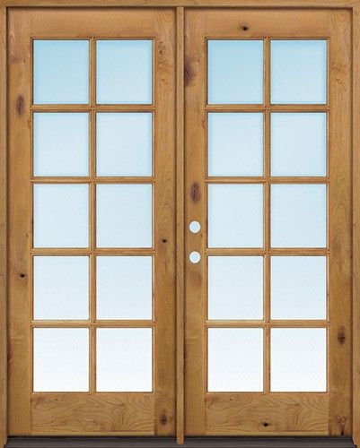 Discount Exterior 6 8 10 Lite Tdl Low E Knotty Alder Wood Door French Unit Wood Exterior Door Exterior Doors Alder Wood