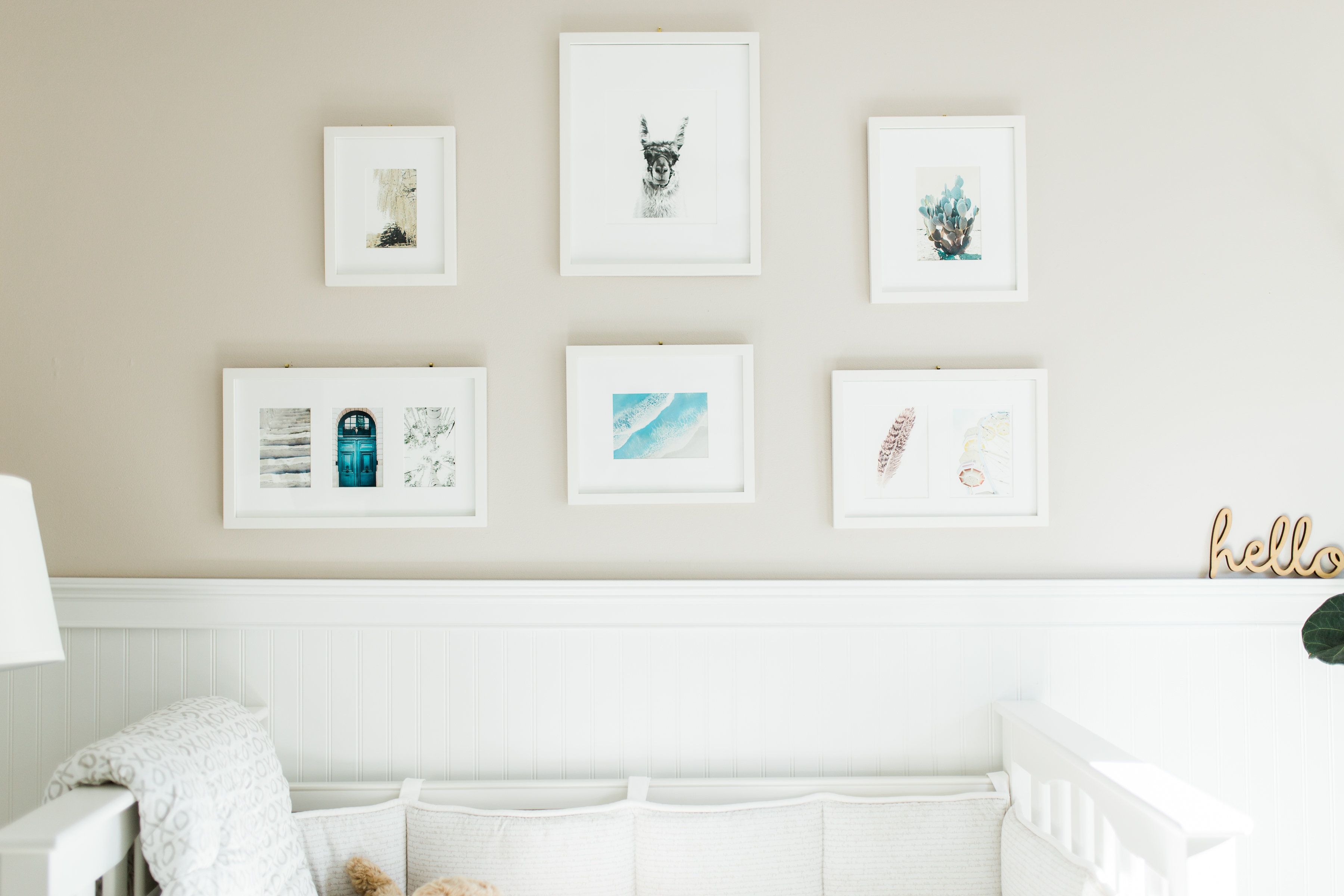 Penelope's Gender Neutral Nursery | Coffee Beans and Bobby Pins