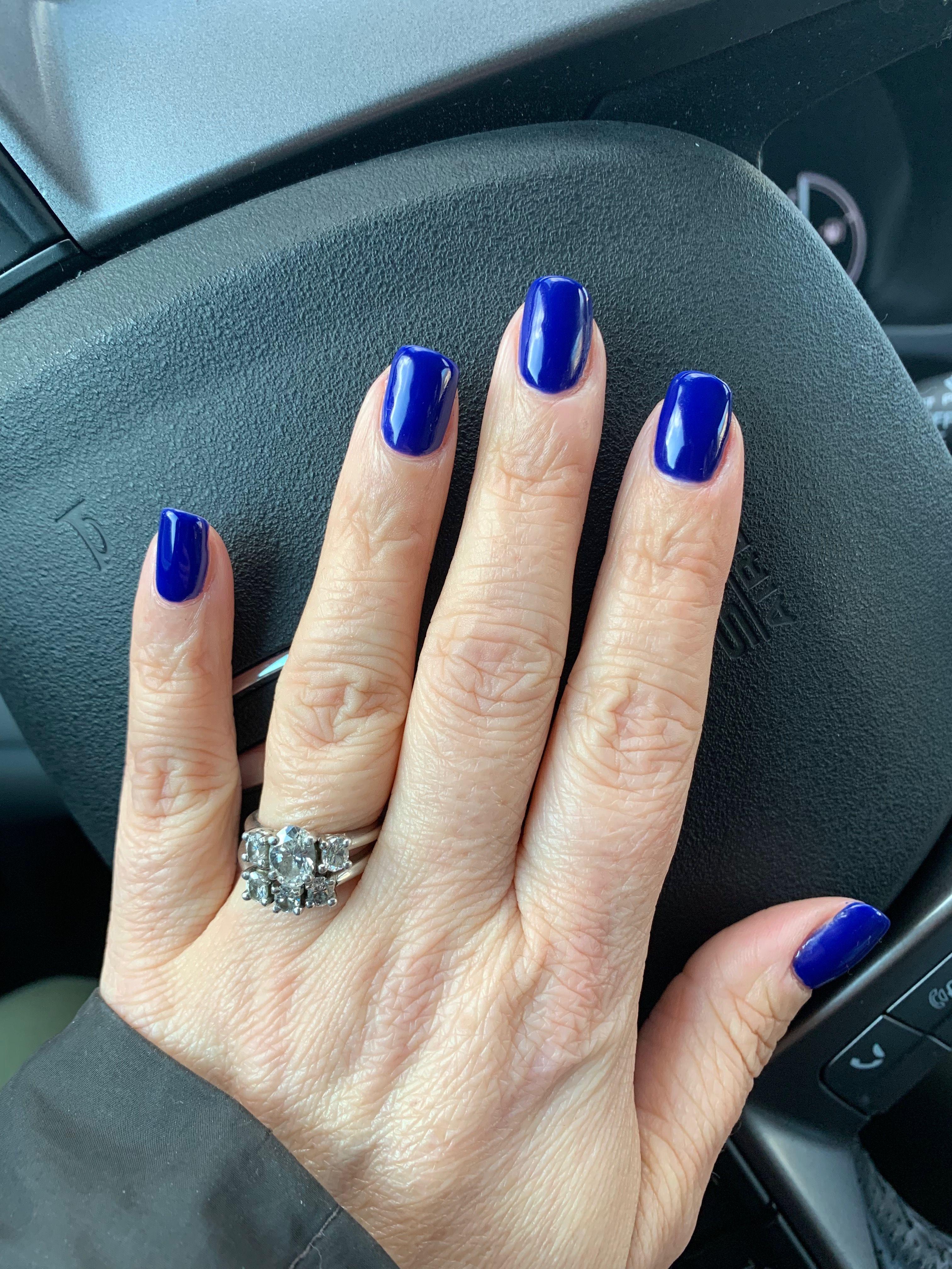 Cnd Blue Moon Gel Nails Cnd Shellac Nails