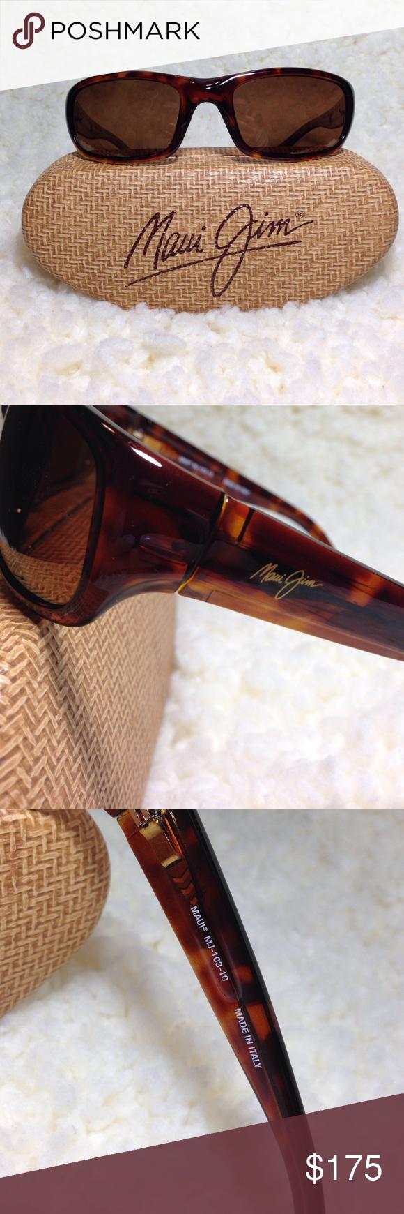 Maui Jim stringray sunglasses. NWOT | Pinterest