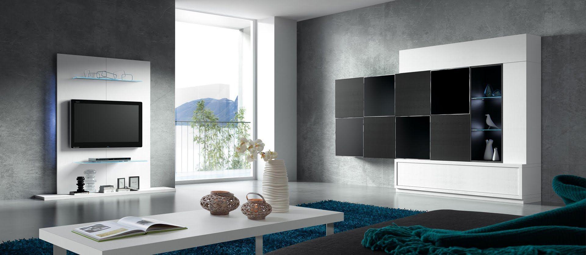 Resultado de imagen para decoracion tv colgada pared | DECORACION ...