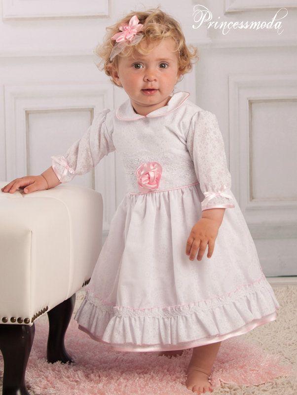 Taufkleid Lotta - Wunderschön in Rosa-Weiß! - Princessmoda ...