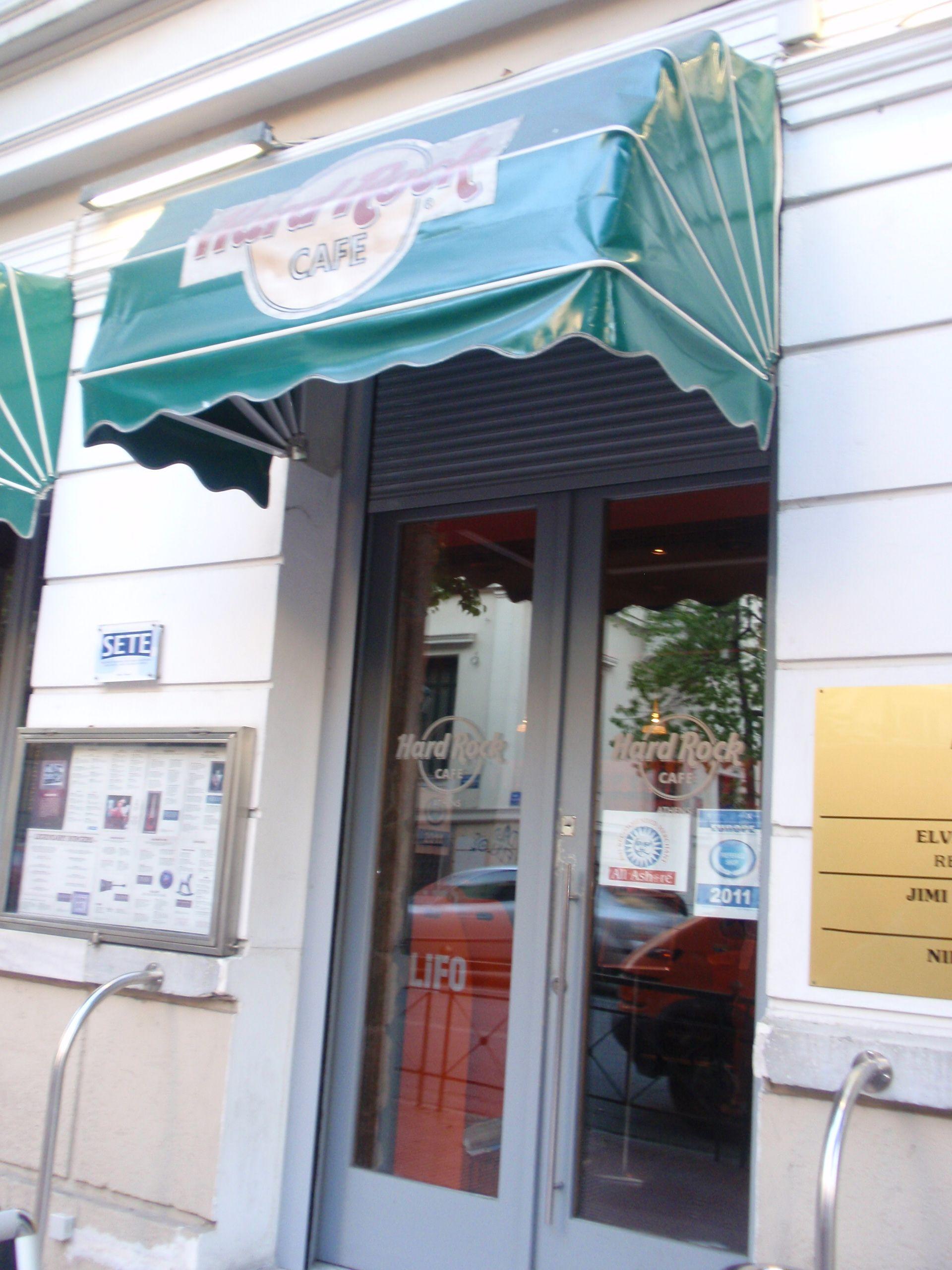 Hard Rock cafe in Athene. Er zijn er hier zelfs 2 dus allebei maar bezocht