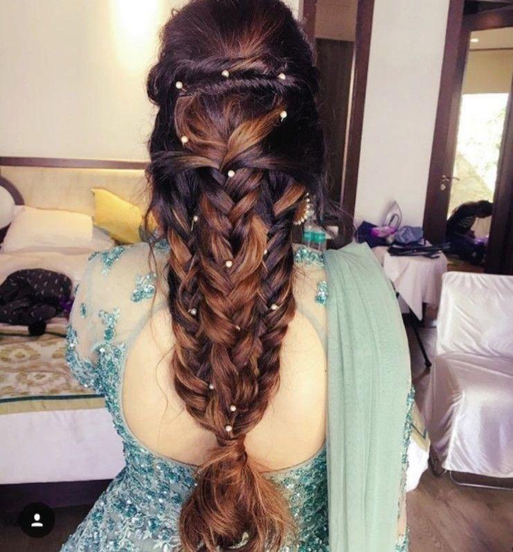 Indian Braids Hairstyle: Pinterest: @cutipieanu In 2019
