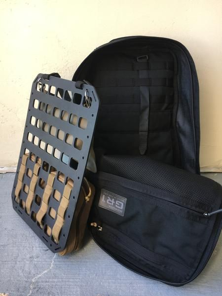 d77b9ad159 Grey Man Tactical Rigid MOLLE Panel RIP-M Backpack Tactical Insert Covert  Conceal Carry GoRuck GR1 GR2 www.greyman-tactical.com