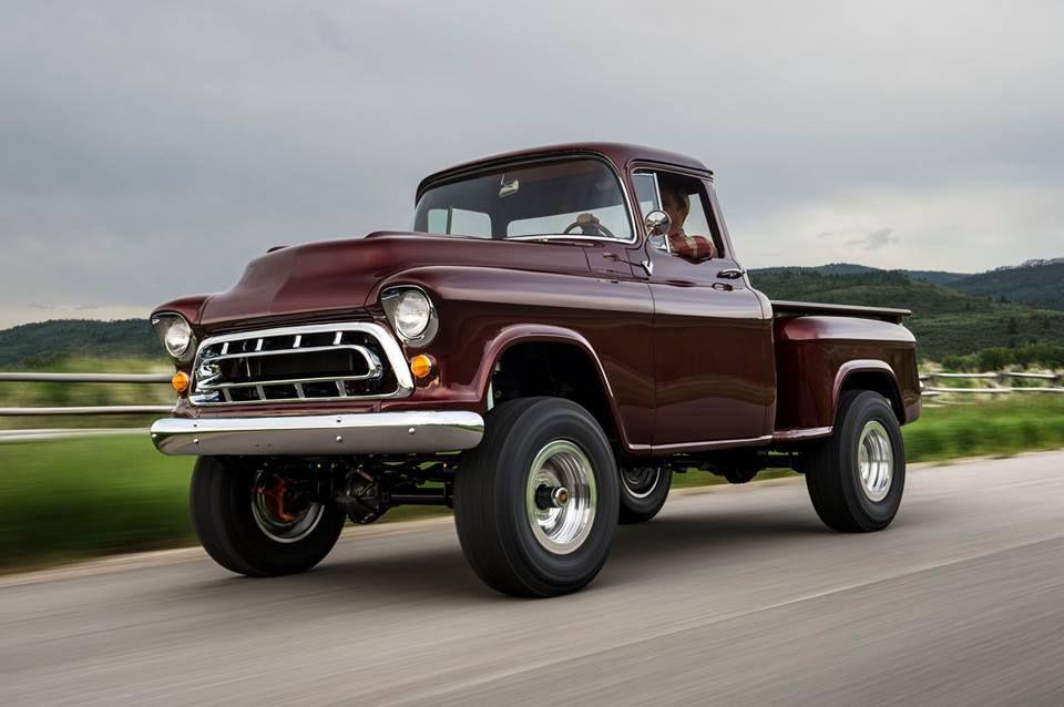 1957 Chevrolet Napco 4x4 By Legacy Classic Trucks Trucks Chevy
