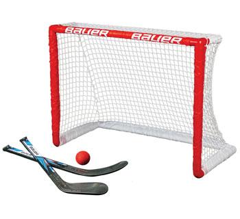 Bauer Knee Hockey Mini Goal 30 5 Incl Mini Sticks And Ball In 2020 Hockey Equipment Hockey Hockey Goals
