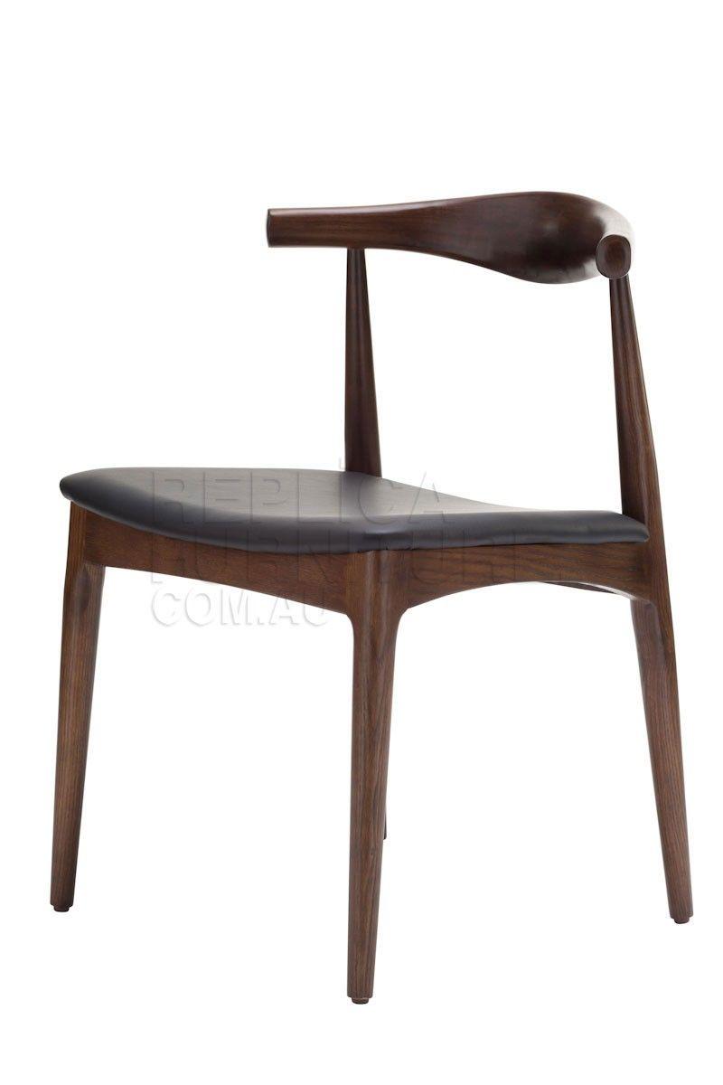 Walnut Elbow Chair Replica Hans Wegner CH20 Elbow Chair
