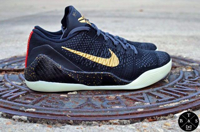 Nike Kobe 9 Elite Gold Pack White Gold Black