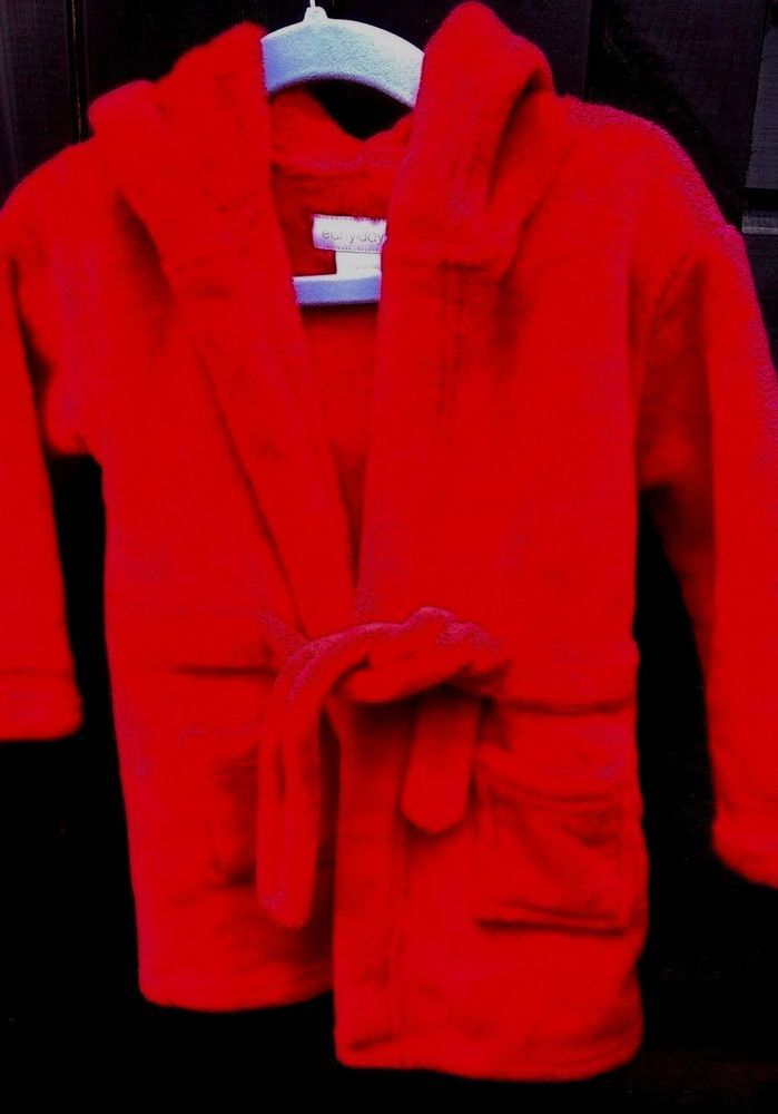 ebcd72ca8 Baby Red Dressing gown with Hood 12-18 months Early Days preloved ...