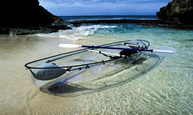 Crystal Clear Canoe Pinterest