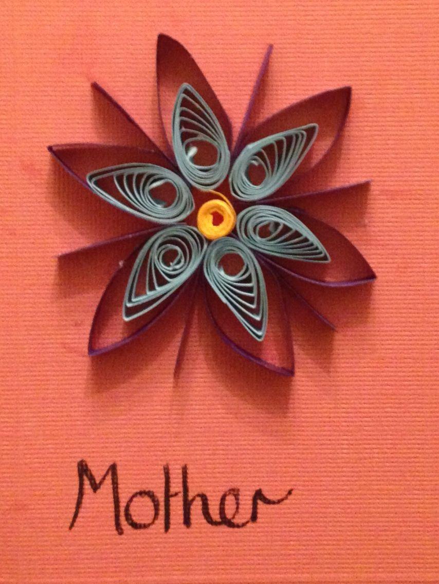 Flower motherus day card sophieus handmade cards pinterest