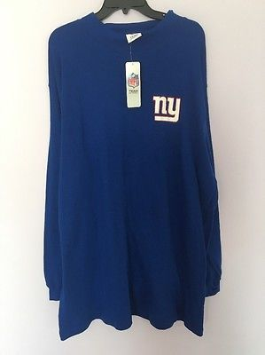dad50c965 Nfl Team Apperal Blue Top Shirt For MAN NY Giants Big And Tall 3xl Nwt Tall