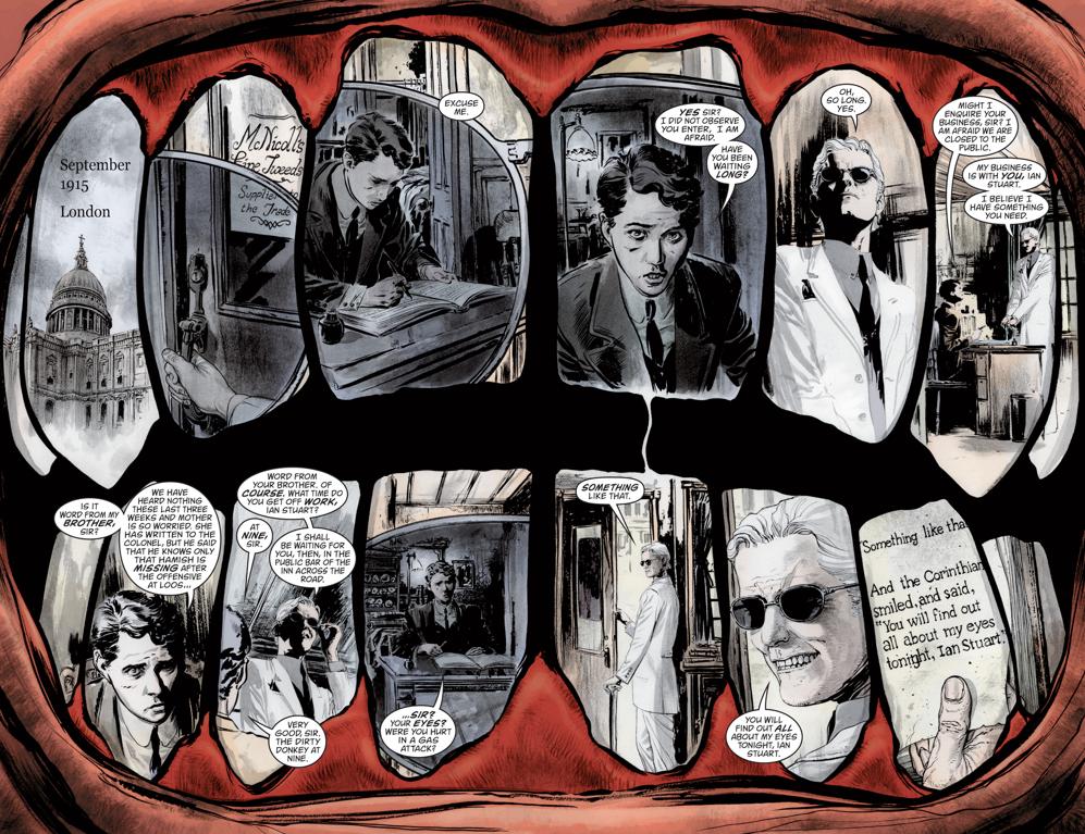 THE SANDMAN: OVERTURE #1Written by Neil GaimanArt by J.H. Williams IIIColors by Dave Stewart