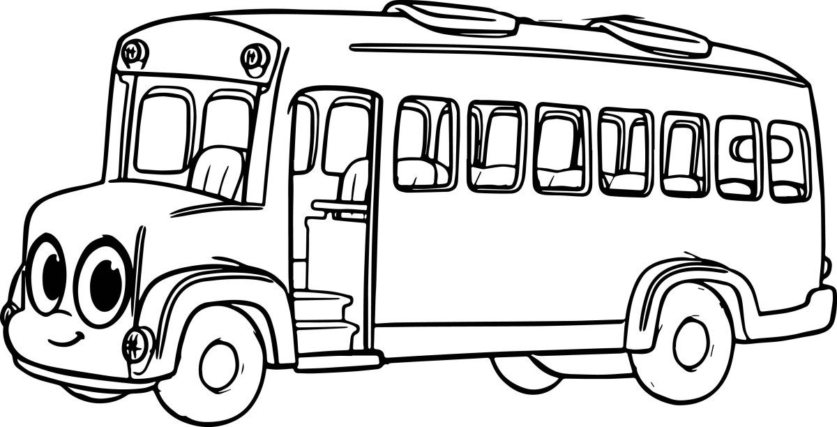 Magic School Bus Coloring Pages Buses Coloring Pages 12 H