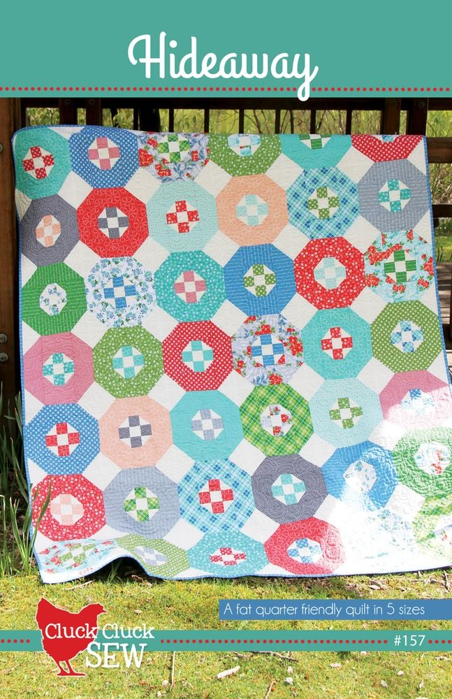 Image of Hideaway #157, Paper Pattern | quilting | Pinterest