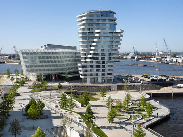 Marco Polo Tower Hamburg marco polo tower hamburg architecture towers tower