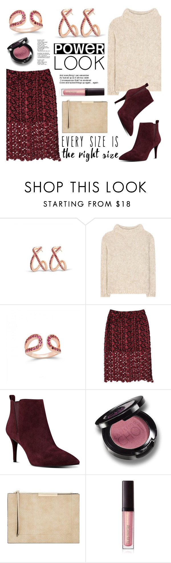 """Your Signature Power Look"" by blossom-jewels ❤ liked on Polyvore featuring Tom Ford, Nine West, Laura Mercier, contestentry, powerlook and Blossomjewels"