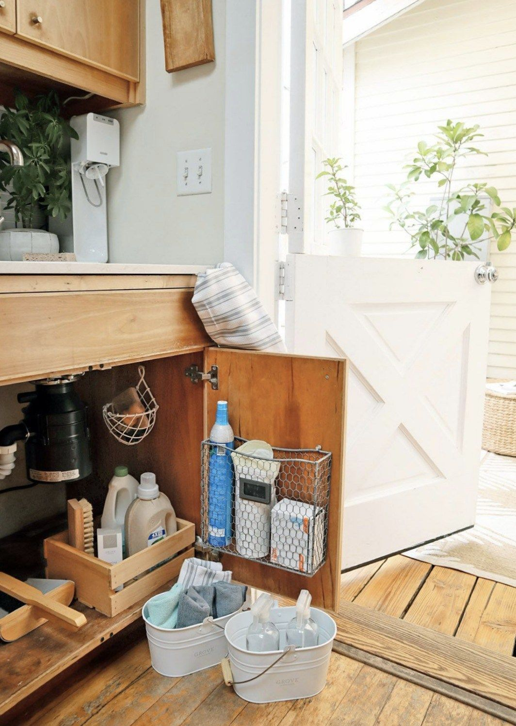 Small Space Organization Small Space Living Feature Tiny Canal Cottage The Cook Stops