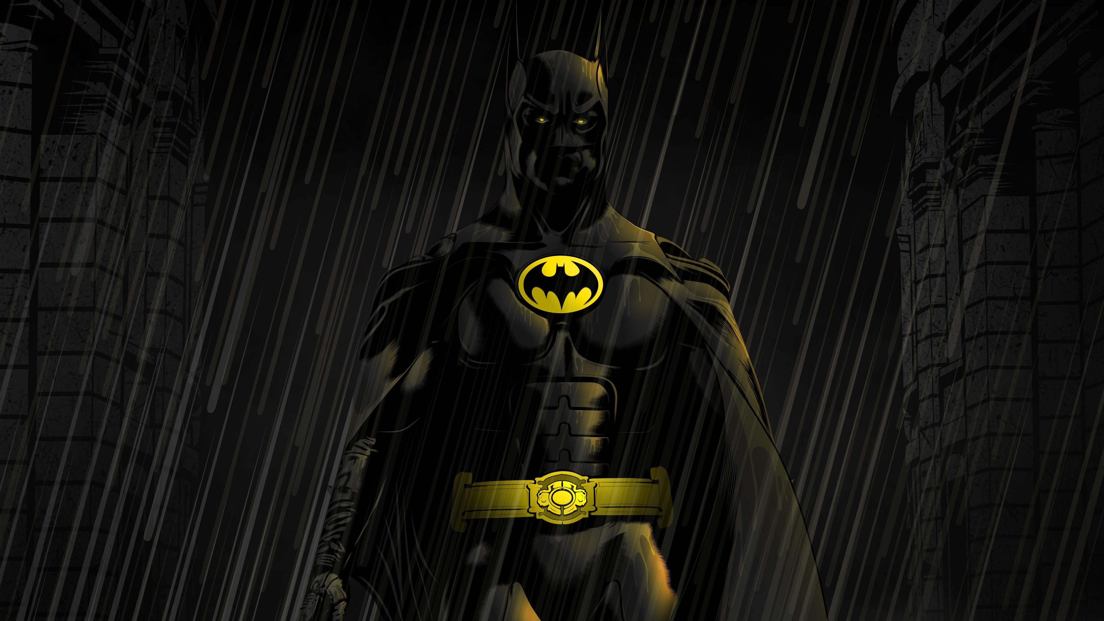 Wallpaper 4k Batman Michael Keaton 4kwallpapers, artwork
