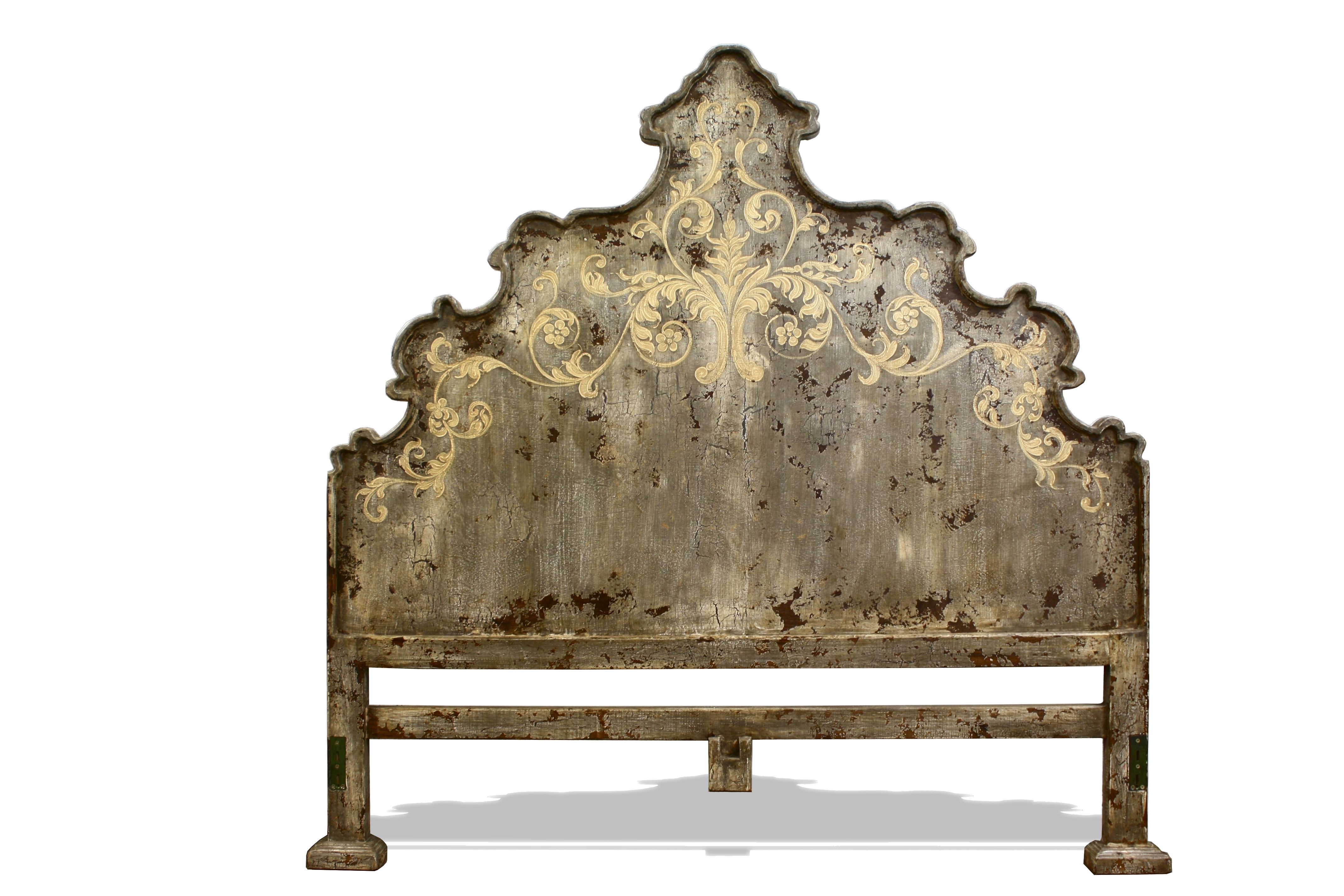 Old World Tuscan King Bed Headboard | The Koenig Collection   Unique Home  Furnishings