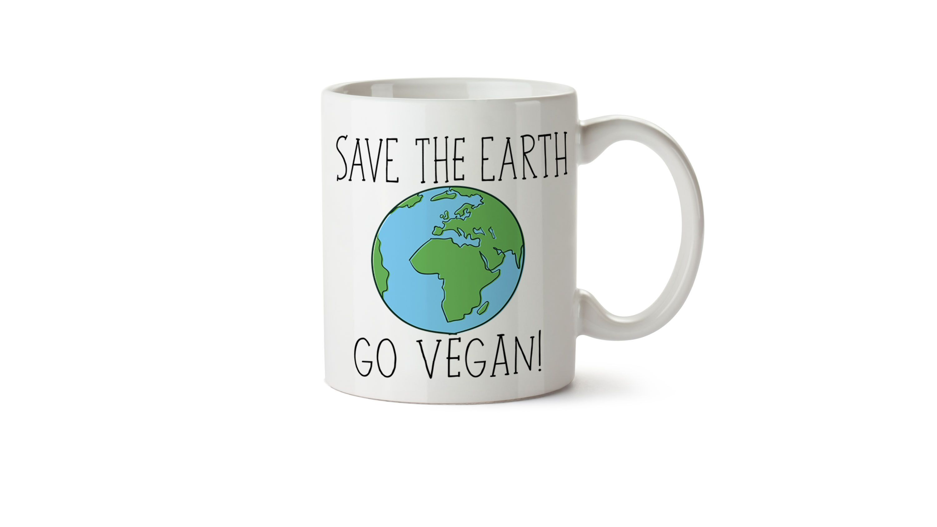 Save the Earth, Go Vegan!
