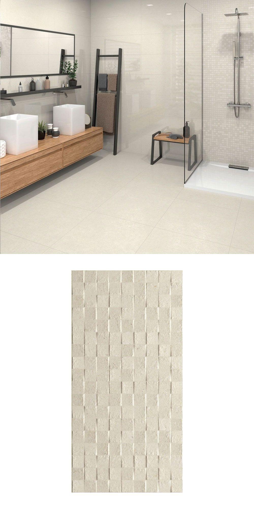 Troverta Cubic Cream 60x30 Tiles Tiles Wall Spaces Wall Tiles