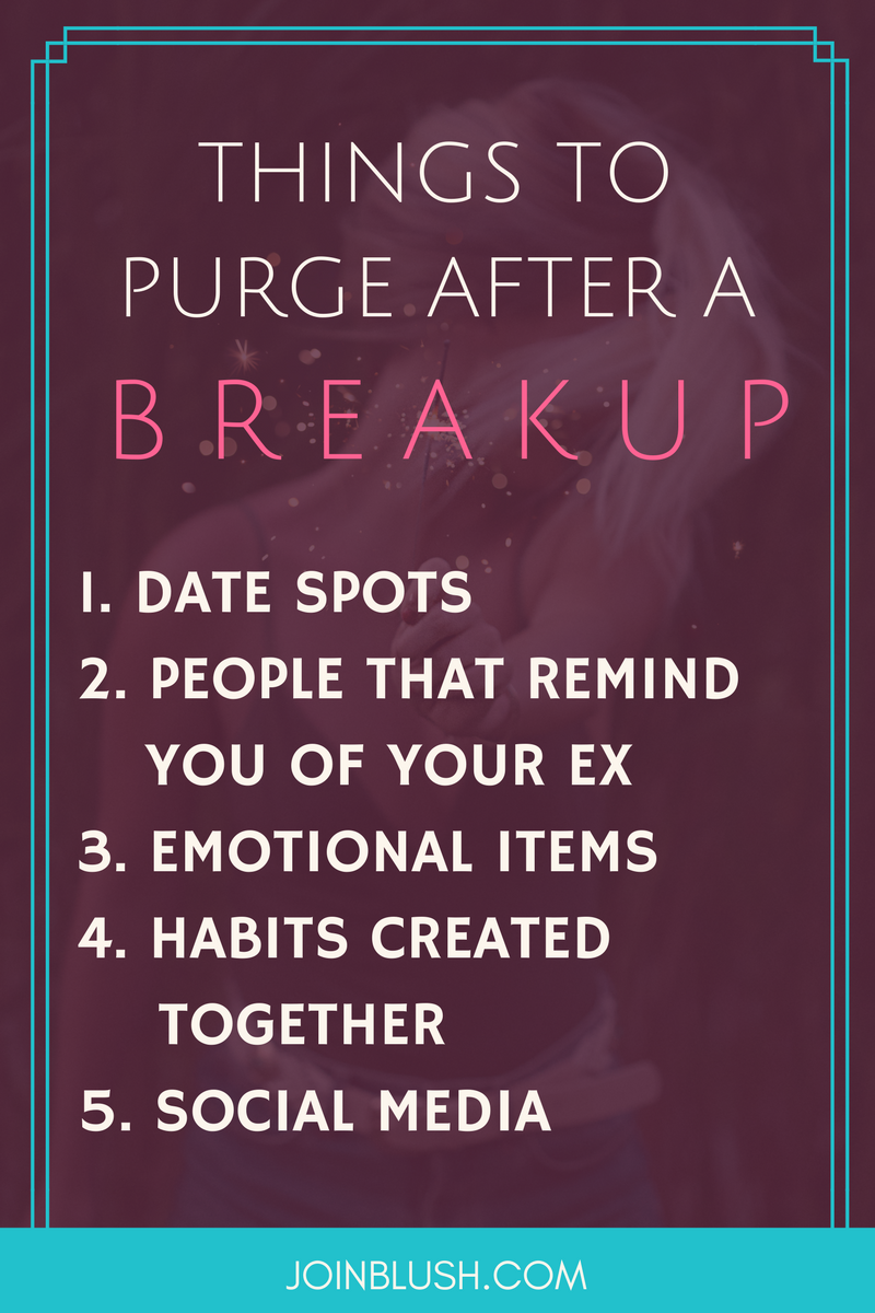 Dating advice after break up