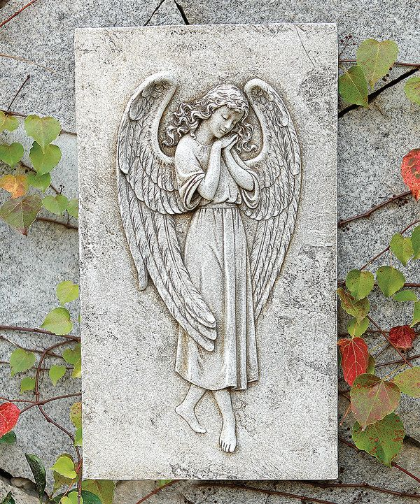 Look at this Angel Relief Wall Plaque on #zulily today!