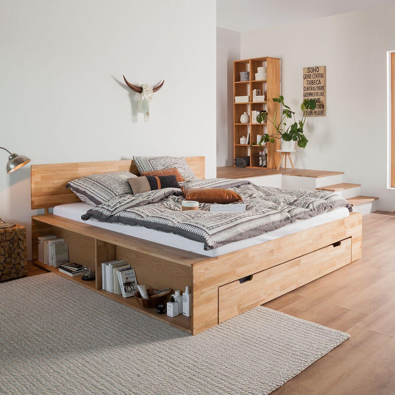 Nice Schlafzimmer Ideen Bett Bettenarte Eingebaut Podest