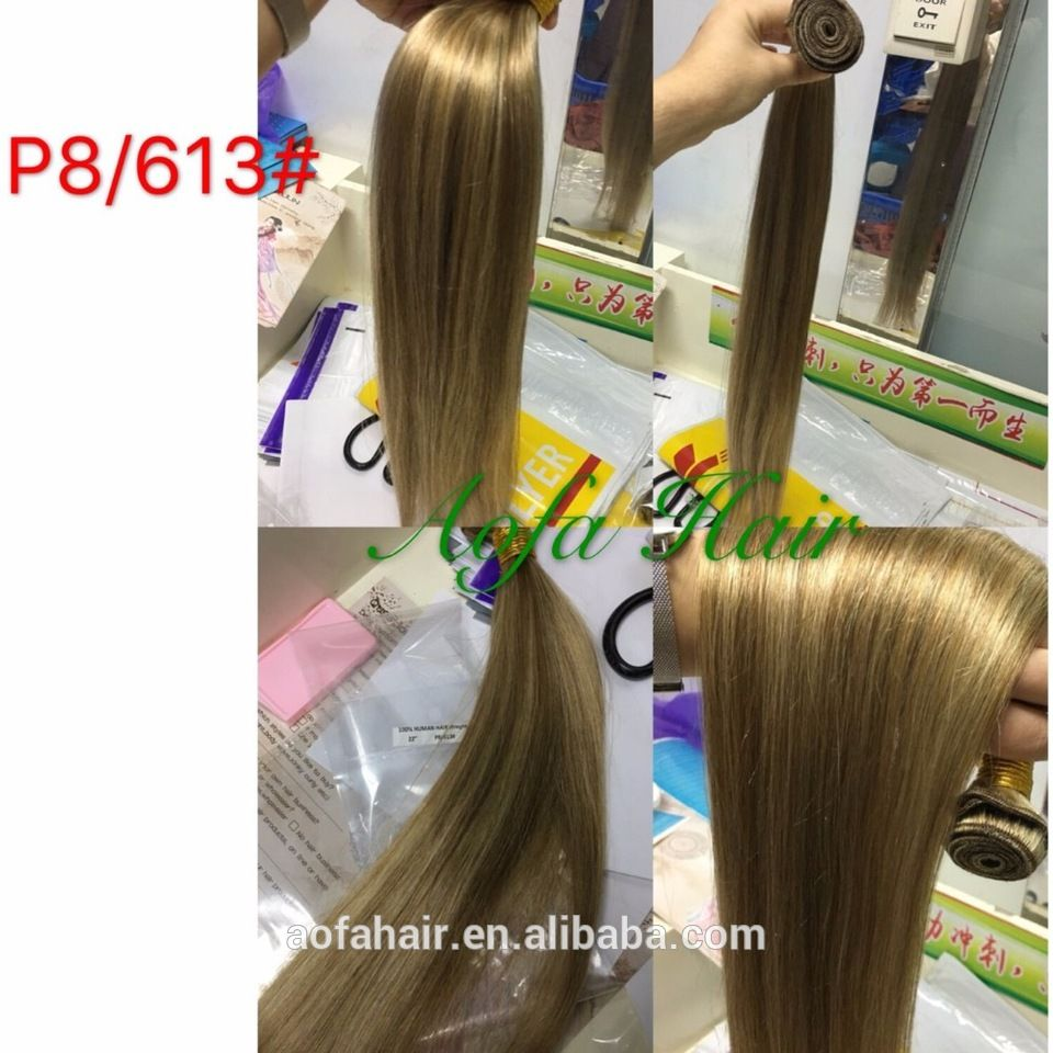 100 Virgin Brazilian 40 36 32 Inch Hair Extensions Blonde Black