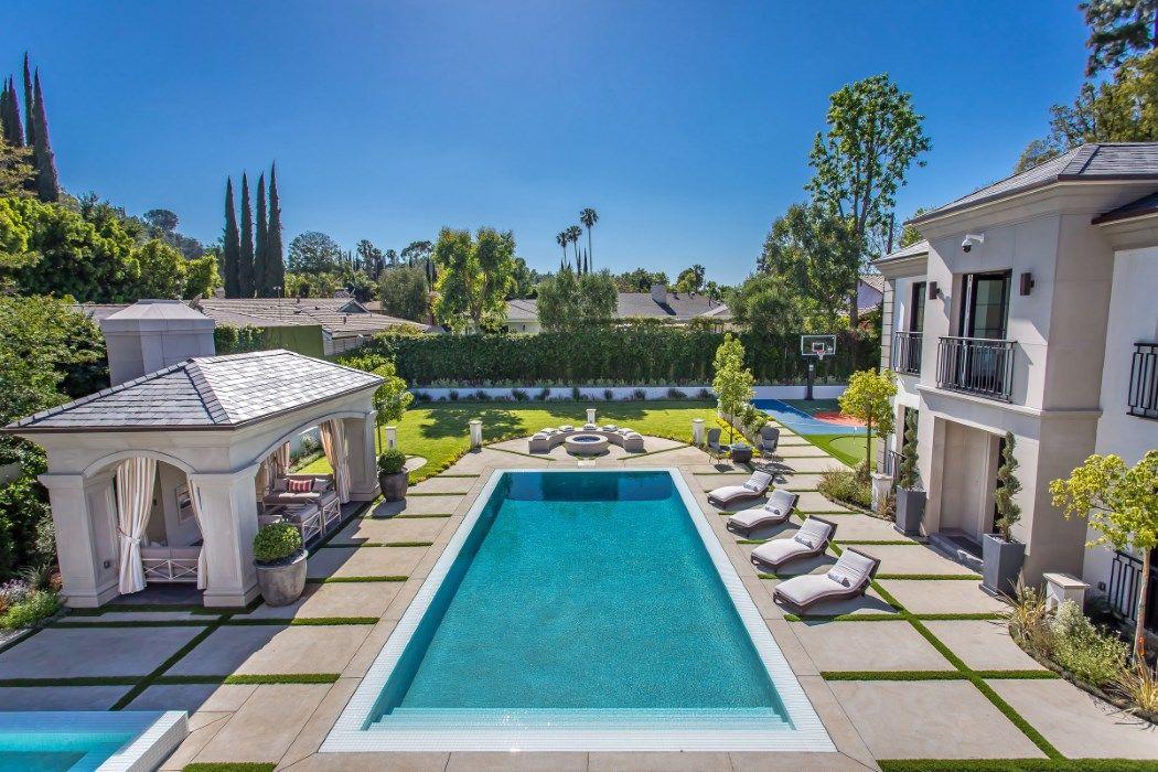 Newly Constructed Mediterranean Compound Encino Ca 91436 Encino Mansions Los Angeles Real Estate