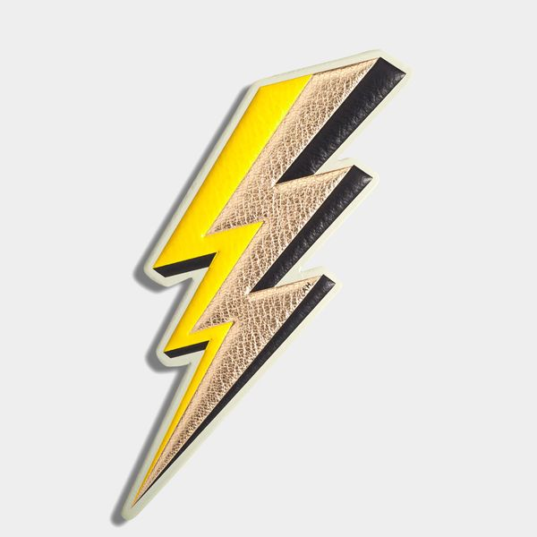 Lightning bolt oversized sticker