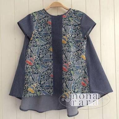 920 Model Baju Batik Nona Rara HD