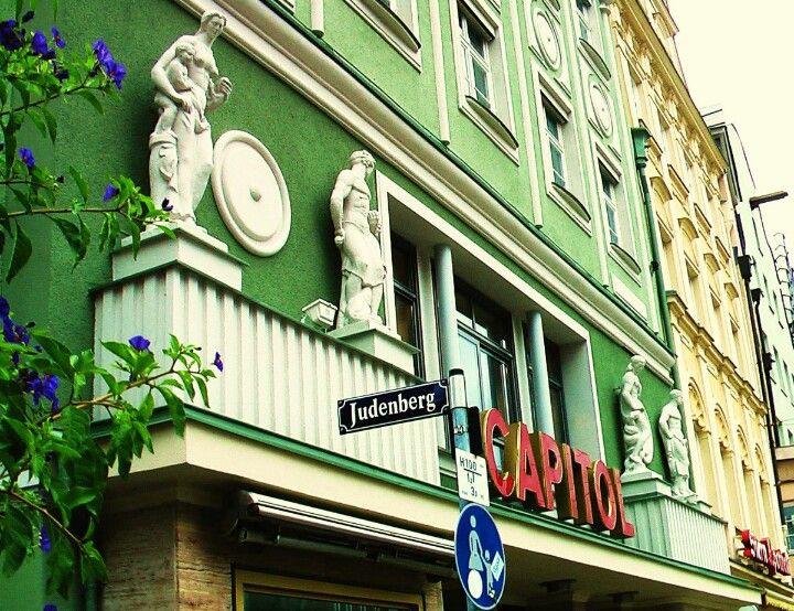 Das Ehemalige Kino Capitol Augsburg Stadt Deutschland