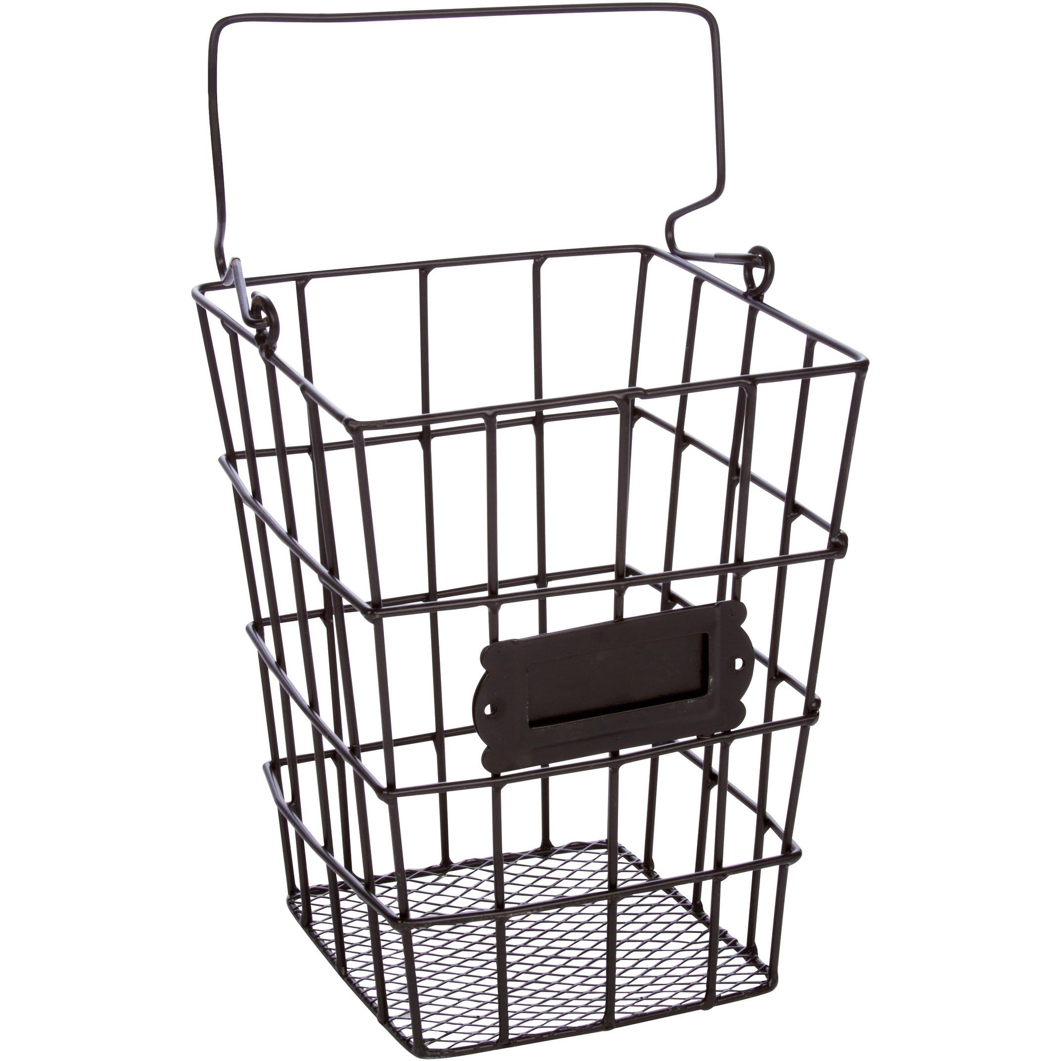 Metal Wire and Mesh Hanging Utensil and Storage Basket by Trademark ...