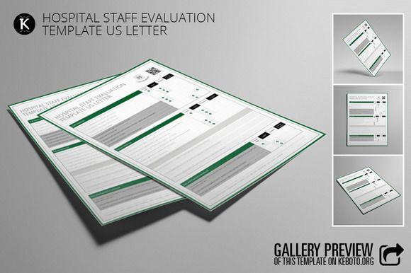 Hospital Staff Evaluation Planner Layout Templates Hospital Staff Graphic Design Tools