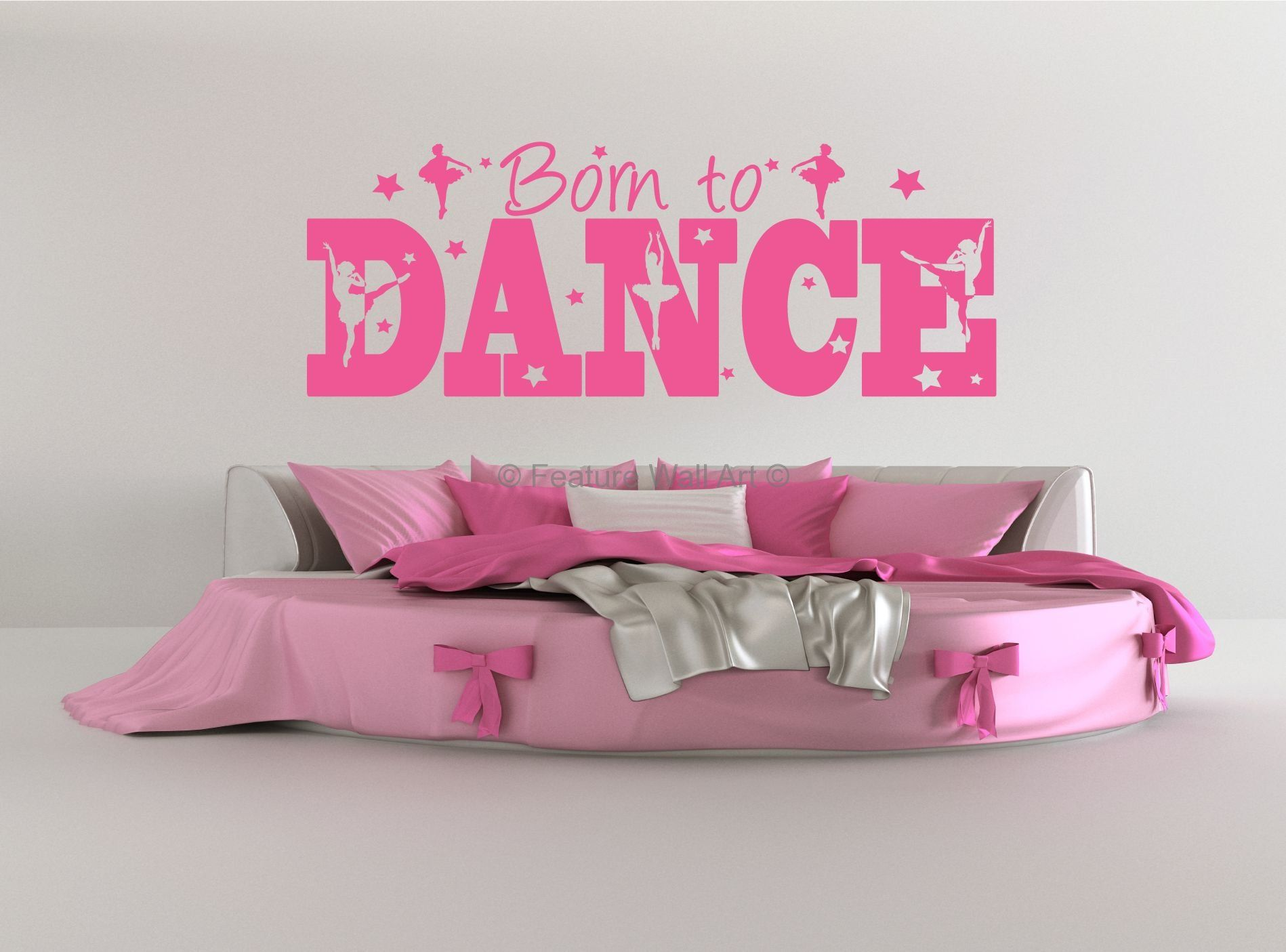 Dance Wall Art Born To Dance Wall Art Vinyl Stickers Decal - Custom vinyl wall decals dance