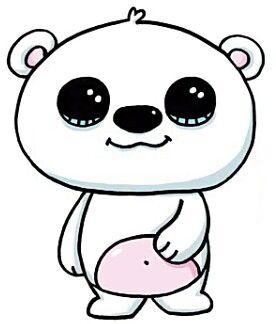 Osos Polar Kawaii Con Imagenes Dibujos Kawaii Dibujos Bonitos