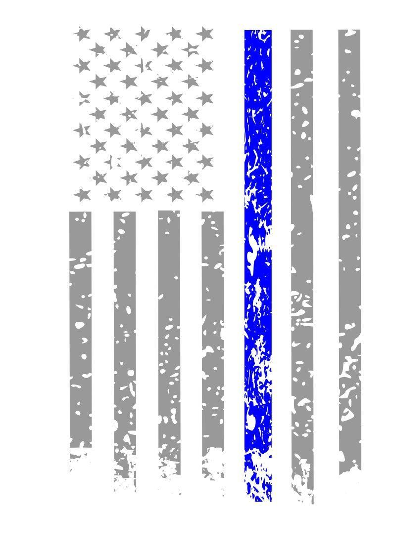Thin Blue Line Svg Bundle 19 Images Svg Png Police Image Etsy Distressed Flag Digital Svg Fourth Of July Crafts For Kids