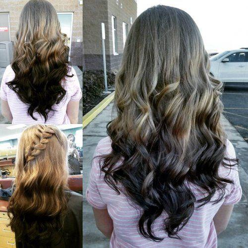 Ombre Hair Color 2018 Reverse Ombre Hair Color Pinterest