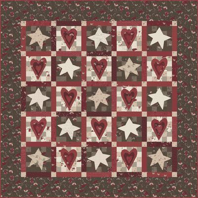 Wish Upon A Star....free Pattern, By Lynette Anderson!